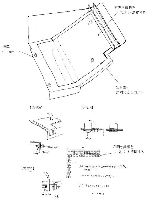 図1●フリーハンドによるポンチ絵(概略構想)