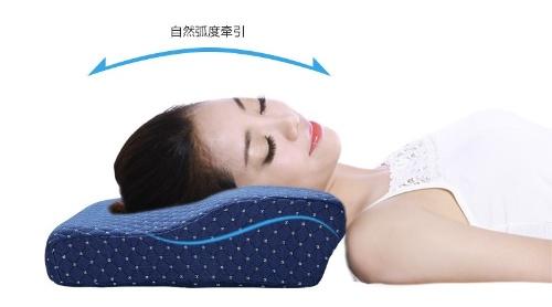 ウェブページには、自然な曲線で快眠できるとあるが……