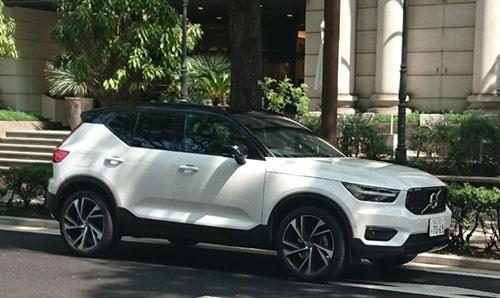 ボルボの最新SUV「XC40」。新世代プラットフォーム「CMA」を採用する最初のモデルだ