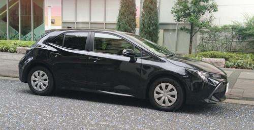 トヨタ自動車が2018年6月に発売した新型「カローラスポーツ」