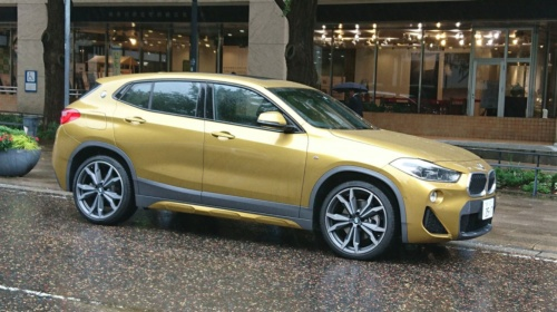 ドイツBMWの新型SUV「X2」。国内では2018年4月に発売された