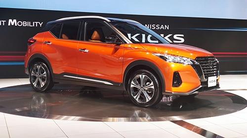 軽自動車以外では2年9カ月ぶりの新型車となる小型SUV「キックス」
