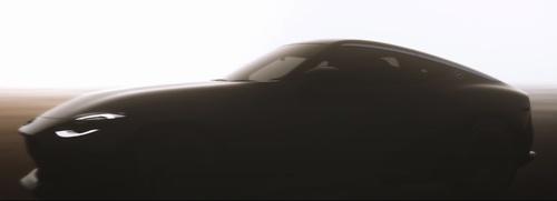日産が決算発表で公開した動画に登場した新型「フェアレディZ」(動画:日産自動車)