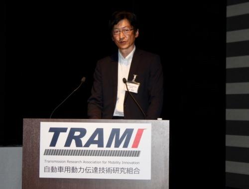TRAMI運営委員長で、本田技術研究所四輪R&Dセンター第4技術開発室主任研究員の白井智也氏。