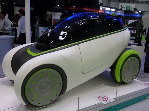 図3 豊田合成のコンセプト車「フレスビーⅢ」