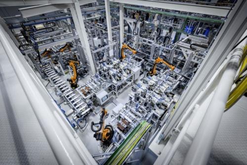 図2 カメンツ工場の内部風景