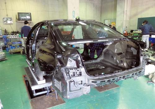 図1 BMW「3シリーズ」セダンのホワイトボディー