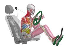図4 運転者の姿勢