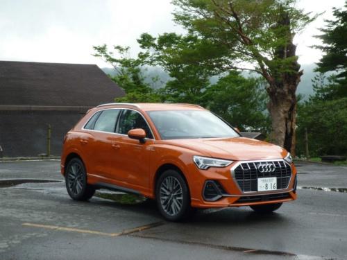 2代目となったアウディQ3は車体がやや大きくなったが、国内で使いやすい寸法内にある