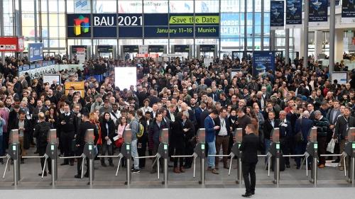 BAU2019には150カ国から25万人が来場した(写真:Messe Munich)