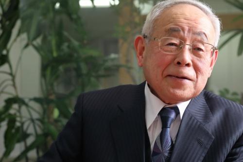 尾島俊雄氏(写真:花井 智子)