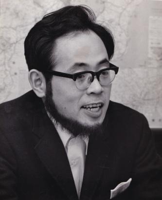 1969年、助教授になったころの尾島俊雄・早稲田大学名誉教授(写真:尾島 俊雄)