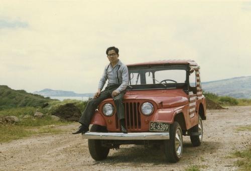 1974年5月、オーストラリアのピルバラ計画に参加した尾島俊雄氏。早稲田大学教授になり、都市環境工学専修のコースを新設したころ(写真:尾島 俊雄)