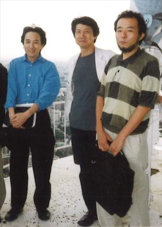 ワークショップの3氏。左から、北山恒氏、谷内田章夫氏、木下道郎氏(写真:ワークショップ)