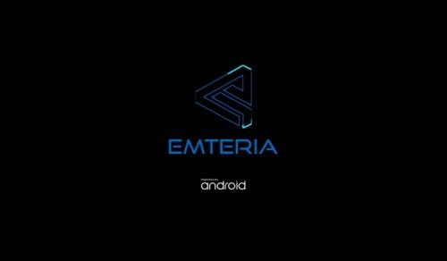 emteria.OSの起動画面