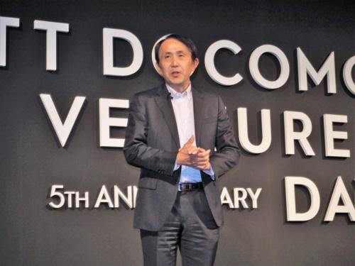 10周年を迎えたNTTドコモ・ベンチャーズは2月20日に「NTTドコモ・ベンチャーズDAY 2018」を開催。代表取締役社長の中山俊樹氏らが講演を実施した。写真は同イベントより(筆者撮影)