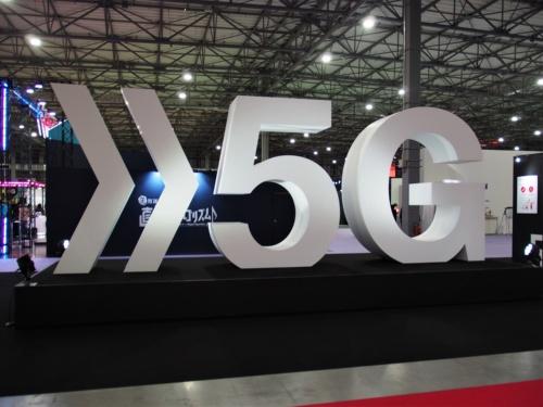 NTTドコモが2020年1月23~24日に開いた「DOCOMO Open House 2020」。5Gを中心とした多くの最新技術展示が目立った(筆者撮影)