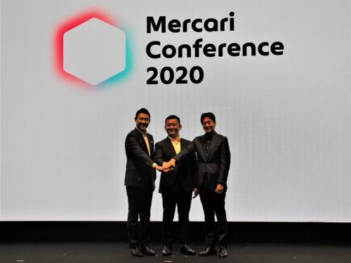 メルカリは2020年2月20日に初の事業戦略イベント「Mercari Conference 2020」を開催した。「メルカリ」を主体とした今後の戦略について説明した。写真は同イベントより