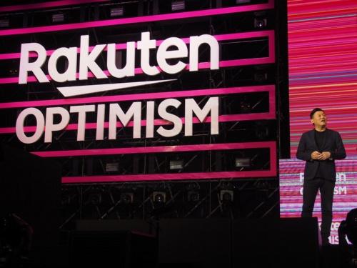 楽天は2019年に開催した自社イベント「Rakuten OPTIMISM 2019」で送料無料化を発表した。楽天市場の同一店舗内で3980円以上購入した人の送料を無料にするとしたが、一部の店舗から大きな反発を招いた。写真は2019年7月31日の同イベントより
