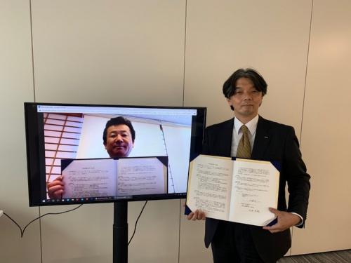 KDDIと會津価値創造フォーラムは2020年5月18日に包括連携協定を締結。会津地域の人材育成や事業共創を推進するという