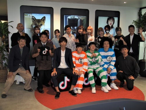 日本でも高い人気を誇るTikTokだが、米国での騒動がその人気に影響を与えつつあるようだ。写真は2019年10月16日の第1回TikTokクリエイターアワーより