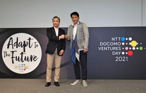 コロナ禍でオンライン主体での開催となった2021年3月9日の「NTT DOCOMO VENTURES DAY 2021」。俳優の別所哲也さんなどが講演などを実施していた。写真は同イベントより(筆者撮影)