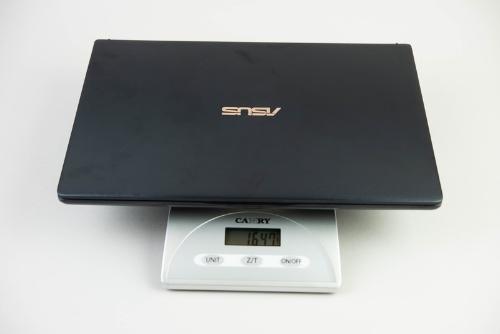 重量は1.6キロもある。計測はキッチンスケールによるので参考までに