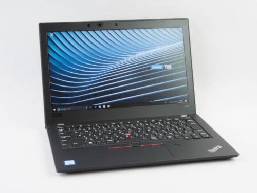 本連載でも以前取り上げたThinkPad X280は、額縁が太く感じる