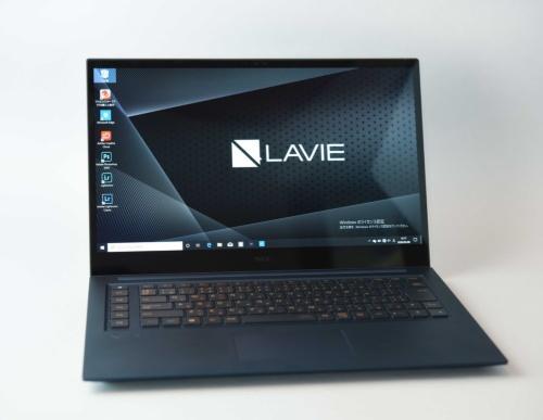 LAVIE VEGAは、クリエイター向けのノートPCだ
