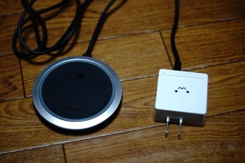 ワイヤレス充電器「cheero CHE-323」とUSB充電器「ELECOM MPA-ACUCN002」