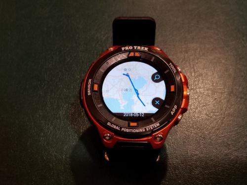 PRO TREK Smart WSD-F20でGPSログを取得する