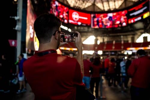 AMBグループによると、試合やコンサートなどの興行による来場者数は、18年1月時点の累計で約174万6160人(写真:AMB Sports + Entertainment)