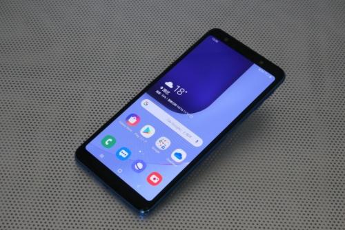韓国サムスン電子の「Galaxy A7」