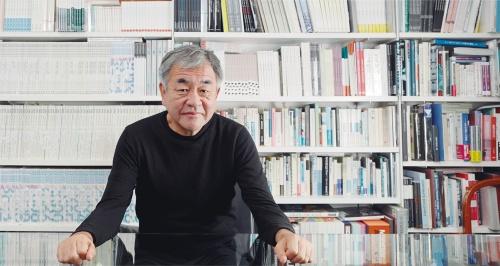 隈研吾氏(写真:山田 愼二)