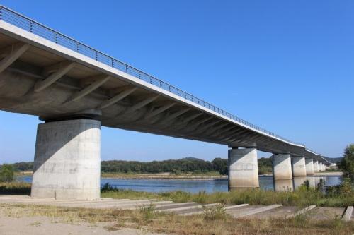 岐阜県各務原市の各務原大橋(写真:岐阜大学)