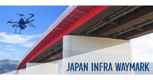 ジャパン・インフラ・ウェイマークはNTT西日本の100%子会社として設立。NTT西日本は、これまでドローンを使った太陽光パネルの点検や、画像認識AIを使った道路の路面変状の診断サービスなどに取り組んできた(資料:NTT西日本)