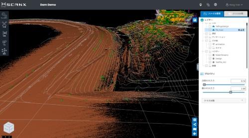 等高線データの生成イメージ(資料:東豊開発コンサルタント)