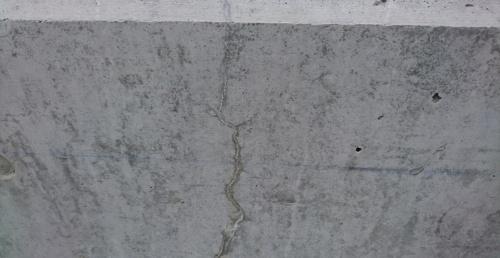 自己治癒機能でひび割れを埋めたコンクリート(写真:會澤高圧コンクリート)