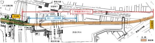 全体平面図(資料:東京メトロ)