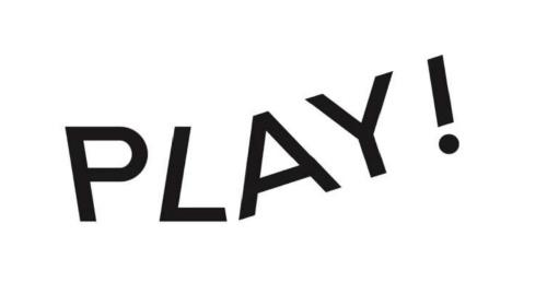 美術館と遊び場の複合施設「PLAY!」のロゴマーク(資料:PLAY!)