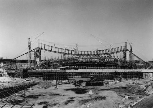 代々木競技場は1964年開催の東京五輪に向けて建設された(写真:日本スポーツ振興センター)