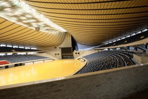 改修前のアリーナ(写真:日本スポーツ振興センター)