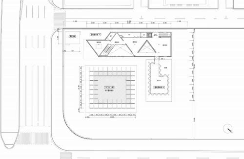 CLT パーク ハルミの2階平面図(資料:三菱地所設計)