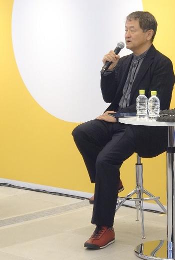 HARUMI FLAGの「マスターアーキテクト」を務める建築家の光井純氏(写真:日経アーキテクチュア)