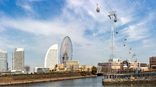 ロープウエーのイメージ図。(資料:横浜市)