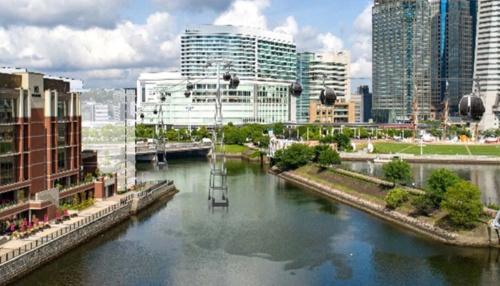 ロープウエーのイメージ図(資料:横浜市)