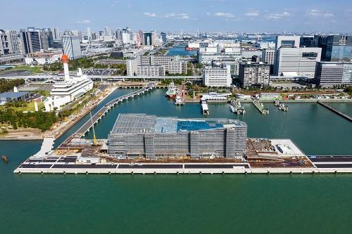 「東京国際クルーズターミナル」(写真:ITイメージング)