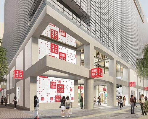 銀座に完成するグローバル旗艦店「UNIQLO TOKYO」。建築ユニットのヘルツォーク&ド・ムーロンが初めて、ユニクロの店舗デザインを手掛ける(資料:ユニクロ)
