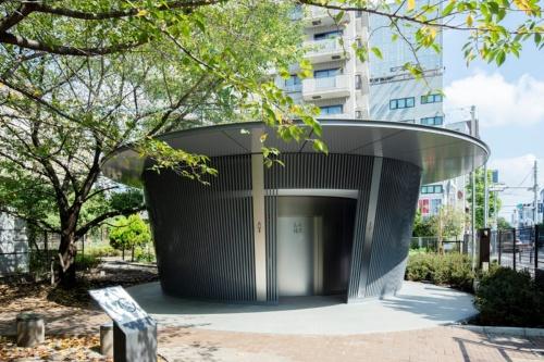神宮通公園トイレの外観(写真:日本財団)