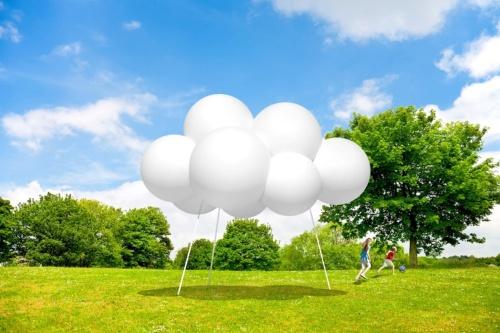 藤本壮介氏の「Cloud Pavilion(仮)」(資料:パビリオン・トウキョウ2021)